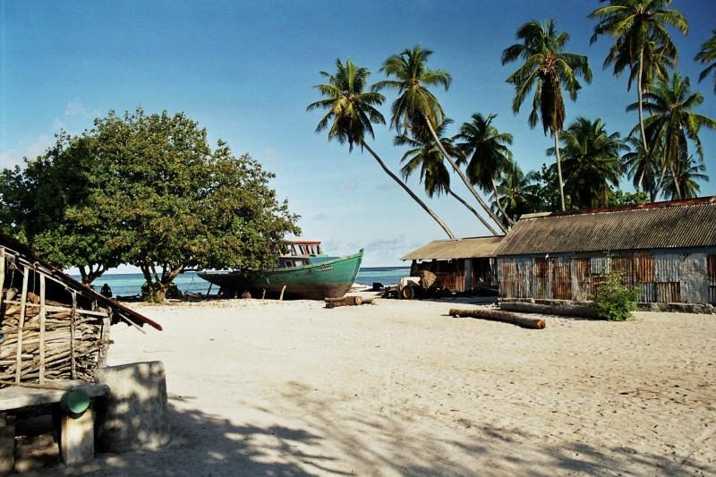 einheimische Insel