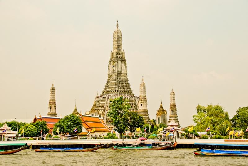 Wat Arun - der Tempel der Morgenröte