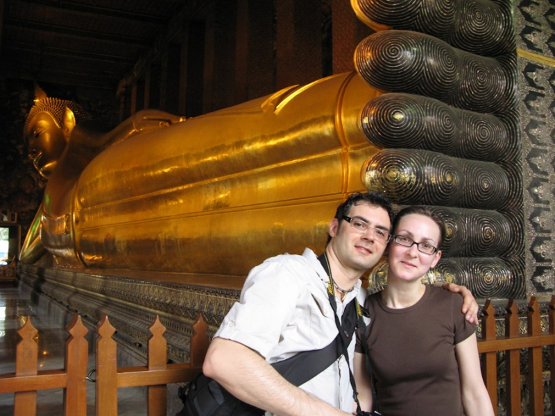 Wat Pho - Tempel des liegenden Buddha