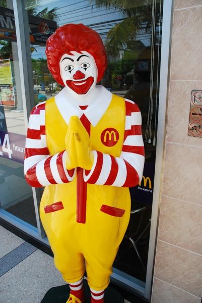 Mc Donalds auf thai =o)
