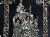 Perlmuttintarsien an den Fußsohlen des Buddha